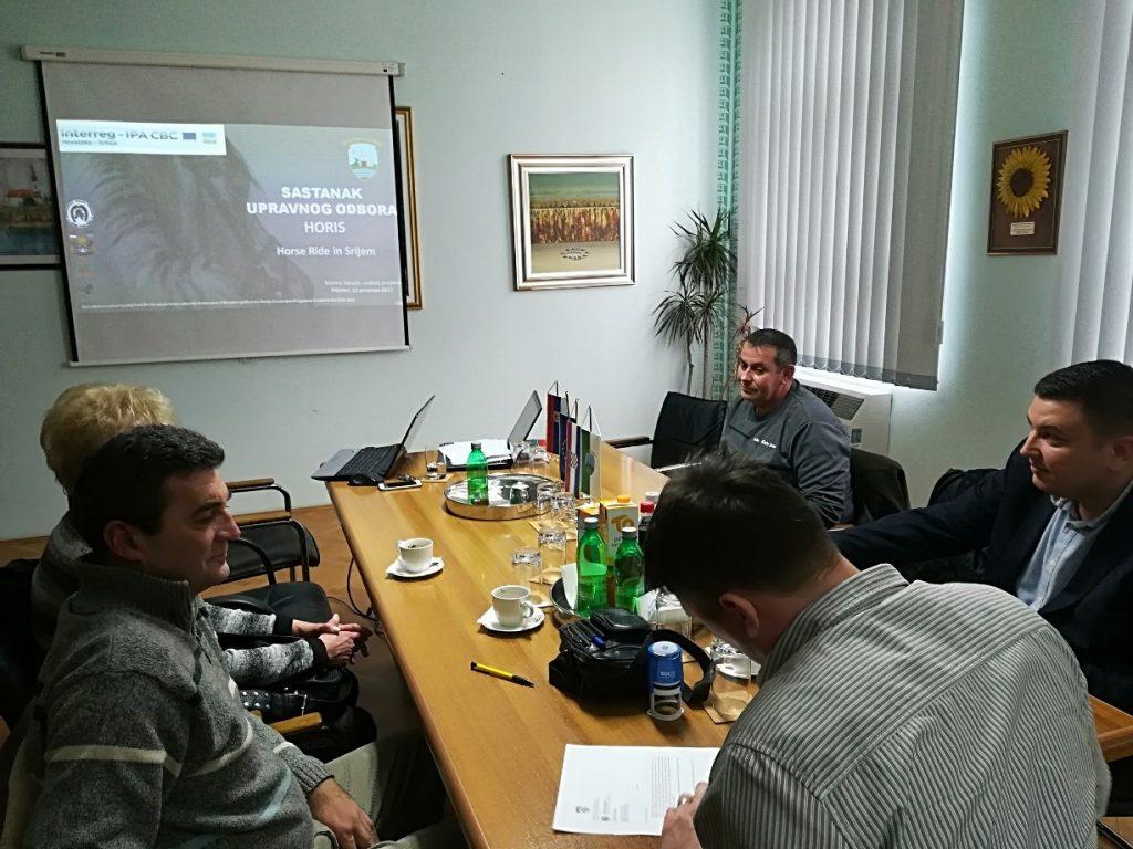 Drugi sastanak Upravnog odbora