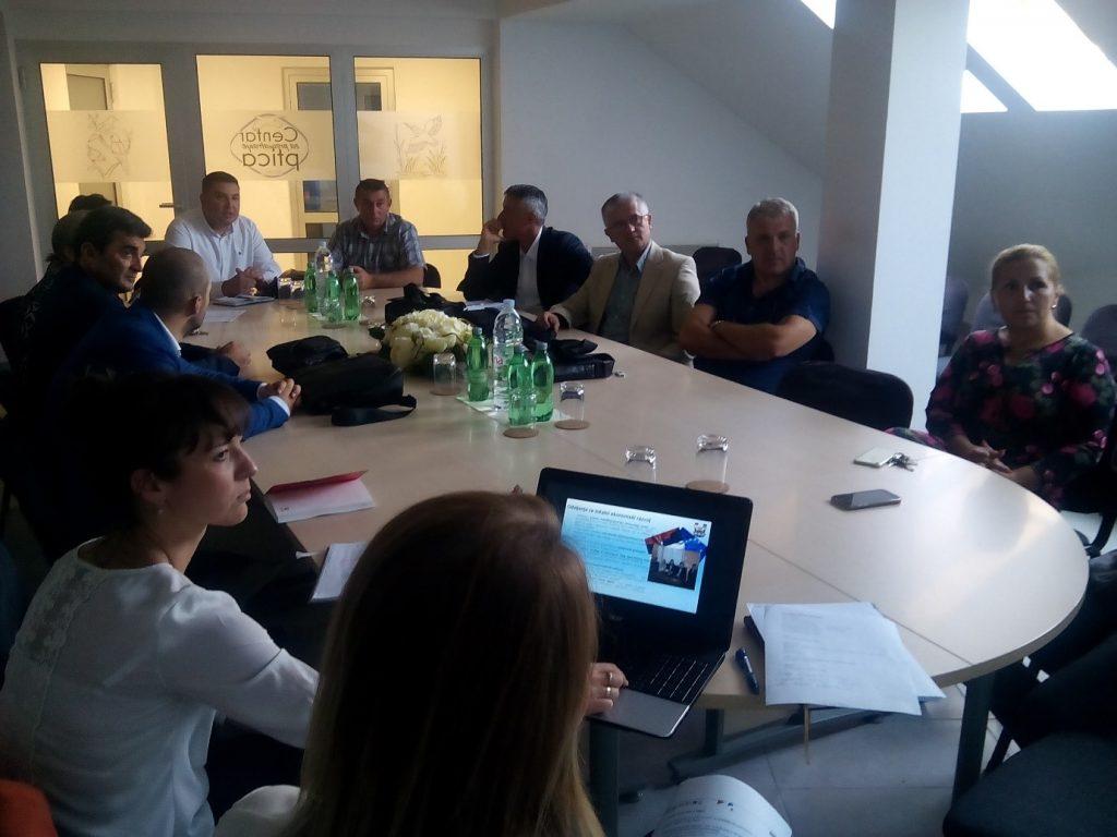 Prvi sastanak Projektnog tima